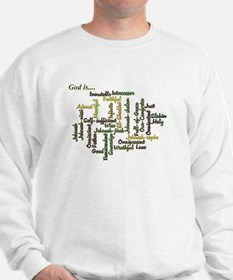 Attributes of God Sweatshirt