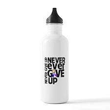 Bladder Cancer Motto Water Bottle