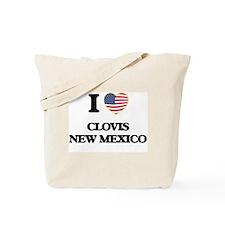 I love Clovis New Mexico Tote Bag