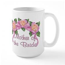 Rose Ribbons - Mother of the Bride Ceramic Mugs