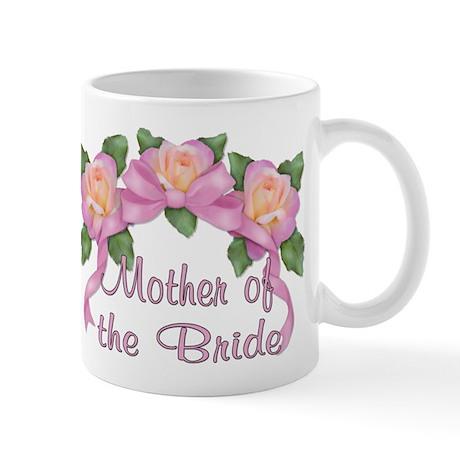 Rose Ribbons - Mother of the Bride Mug