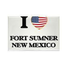I love Fort Sumner New Mexico Magnets