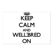 Keep Calm and Well-Bred O Postcards (Package of 8)