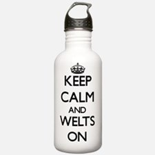 Keep Calm and Welts ON Water Bottle