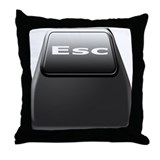 Esc pillow Throw Pillows