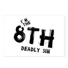 I'm the 8th deadly sin Postcards (Package of 8)