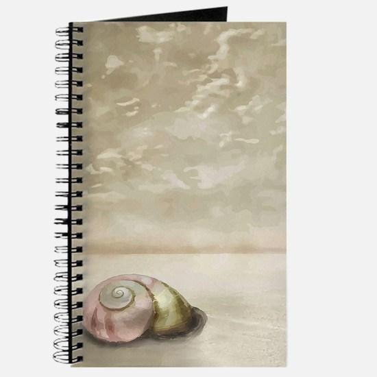 Seashell on the Beach Journal