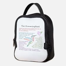 The Hummingbird Neoprene Lunch Bag