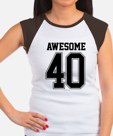 Awesome 40 Birthday Athletic T-Shirt