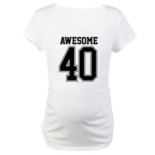 Awesome 40 Birthday Athletic Shirt
