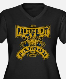 Panther Pit Saloon Plus Size T-Shirt