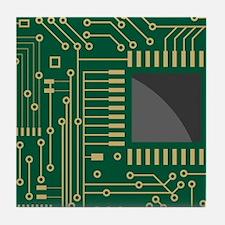 Motherboard 2 Tile Coaster