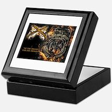 Funny Military Keepsake Box