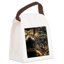 Cute Military police Canvas Lunch Bag