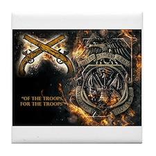 Unique Military police Tile Coaster
