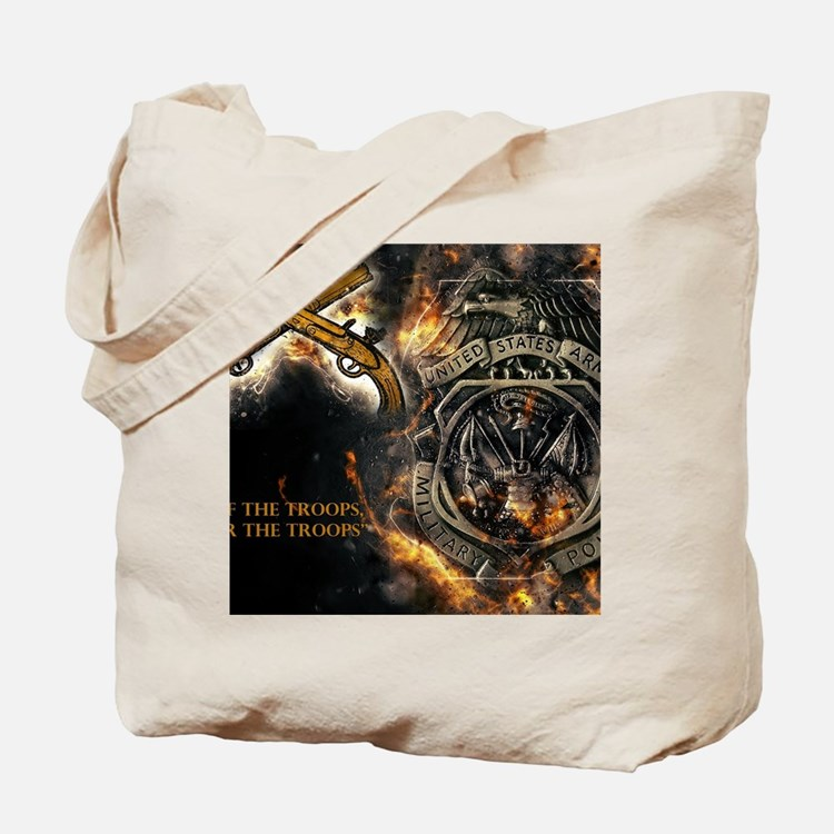 Cute Military police Tote Bag