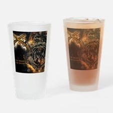 Cute Military police Drinking Glass