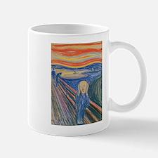 The Scream Coffee Mugs