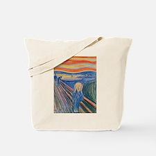 The Scream Canvas Tote Bag