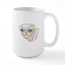 Wire Pug Mugs