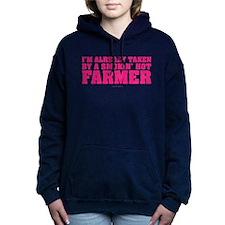 Taken By Hot Farmer Women's Hooded Sweatshirt
