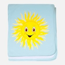 Little Sunshine Cartoon baby blanket