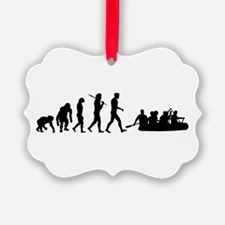 Whitewater River Rafting Ornament