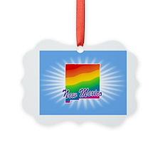 Rainbow State Ornament