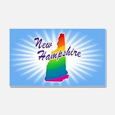 Rainbow State Car Magnet 20 x 12