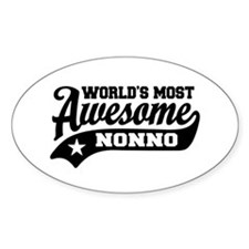 World's Most Awesome Nonno Decal