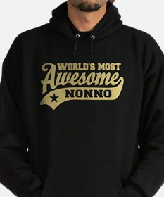 World's Most Awesome Nonno Hoodie