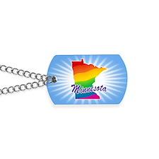 Rainbow State Dog Tags