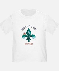 Funny Tulane green wave T