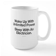 Sleep With An Electrician Mugs