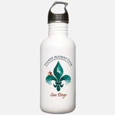 Funny Tulane green wave Water Bottle