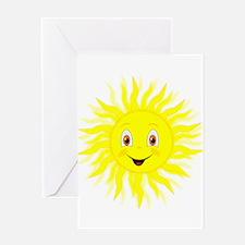 Little Sunshine Cartoon Greeting Cards