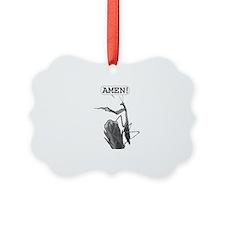 A Praying Mantis Praying Ornament