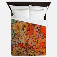 Jewel of the Orient Queen Duvet