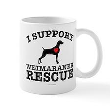 Support Weimaraner Rescue Mugs