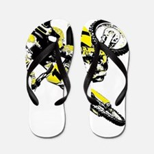 Motor Cross freestyle Flip Flops