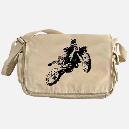 motor cross Messenger Bag