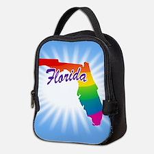 Rainbow State Neoprene Lunch Bag