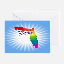 Rainbow State Greeting Card