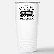 Proud Hockey Dad Travel Mug