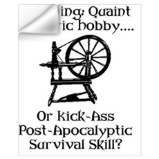 Spinning Wheel Survival Wall Decal