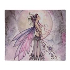 Funny Faerie Throw Blanket