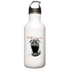 Pug3shirt.png Water Bottle