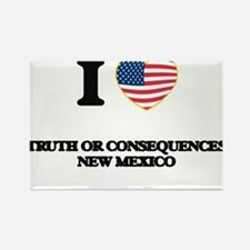 I love Truth Or Consequences New Mexico Magnets