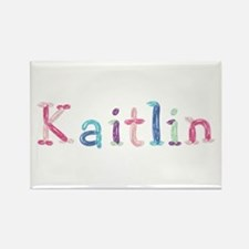 Kaitlin Princess Balloons Rectangle Magnet