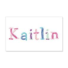 Kaitlin Princess Balloons 20x12 Wall Peel